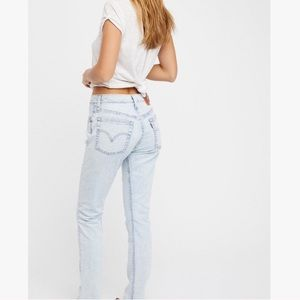 Free People x Levi's • Wedgie 501 Jeans
